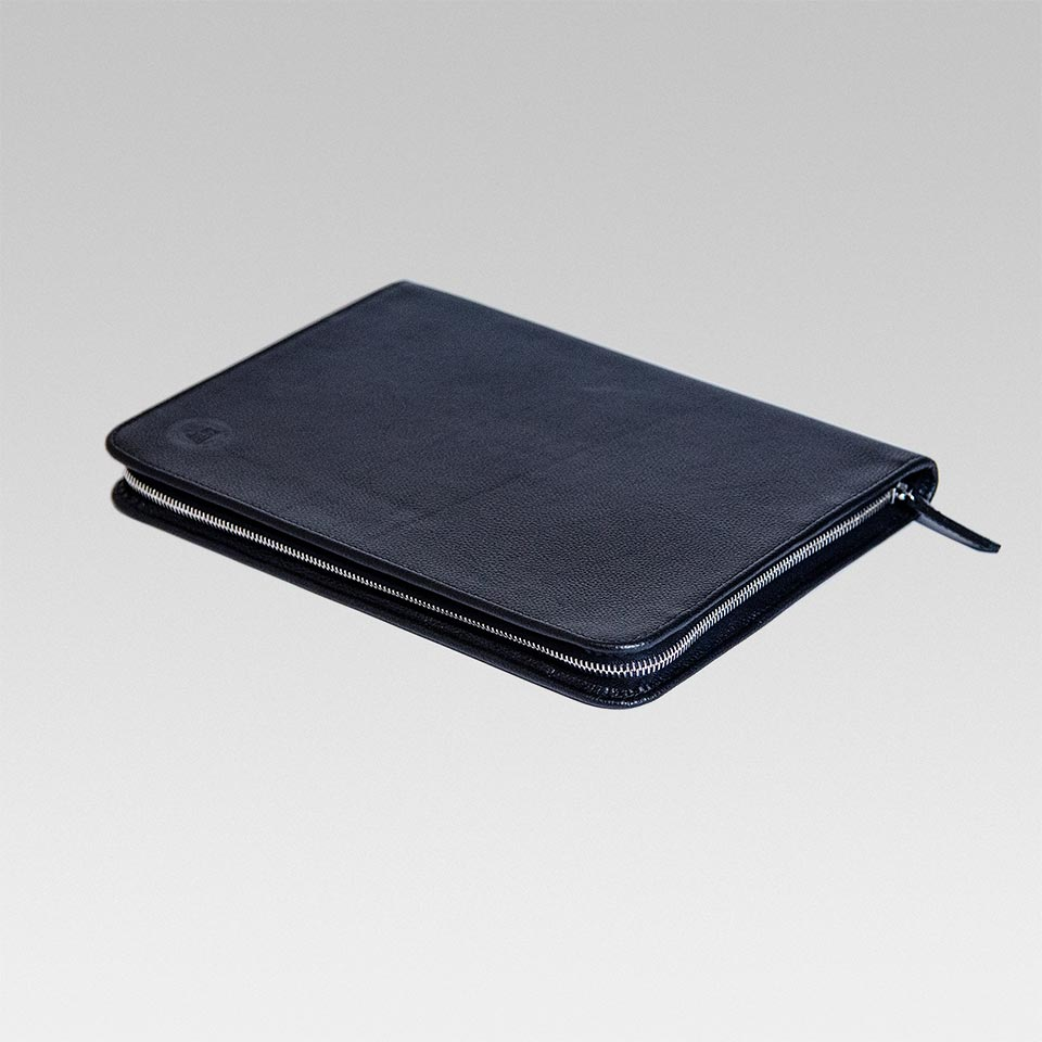 Multi-Purpose Leather Zip Wallet