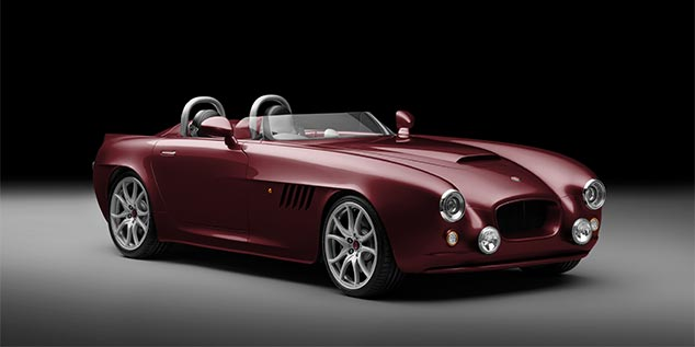 Bristol Bullet in Garnet Red